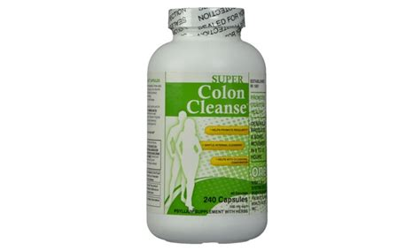 Vic Buffered Colon Detox by Health Plus Colon Cleanse 500mg 240 Capsules Groupon