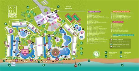 azul resort map azul sensatori mexico resort travel by bob