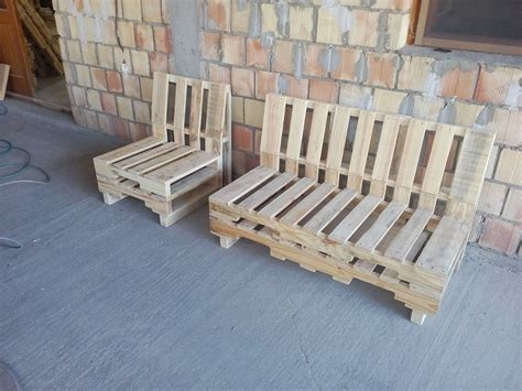 wooden pallet bench pallet bench and chair set pallet furniture