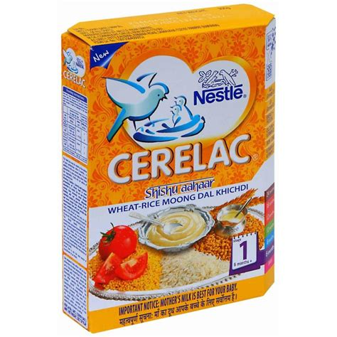 Cerelac Nestle nestle cerelac stage 1 wheat rice moong dal khichadi