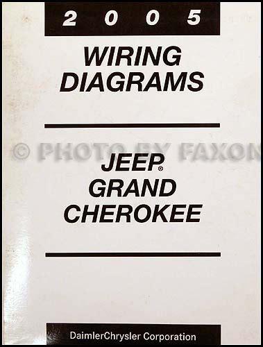 2005 jeep grand repair shop manual original set