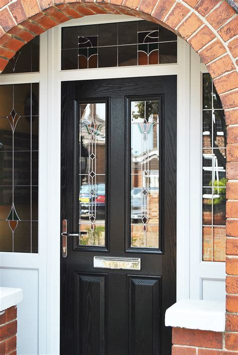 Front Door Leaded Glass A Stunning Renovation Altmore Composite Upvc Rehau Frames And Windows Altmore Composite Door