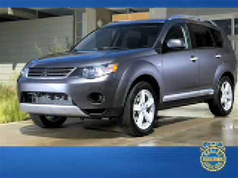 2009 mitsubishi outlander review kelley blue book youtube