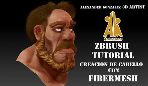 tutorial fibermesh zbrush tutorial creating hair with fibermesh zbrush youtube