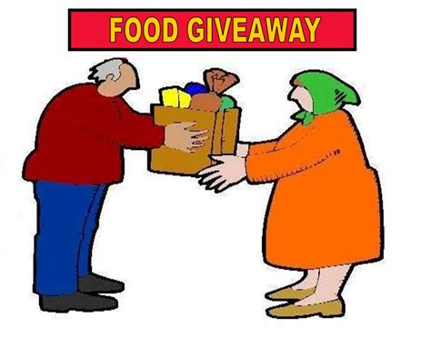 Cooking Giveaways - food ministry