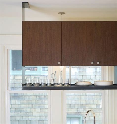 Suspended Shelves Kitchen by Best 25 Hanging Kitchen Cabinets Ideas On How