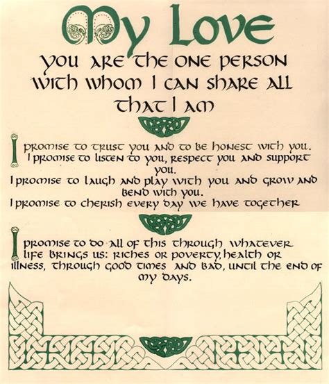 Wedding Blessing Certificate by Wedding Certificates Quaker And Others Celtic
