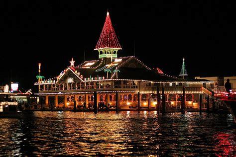 newport light parade cruises california destination guide plan your trip december 2007