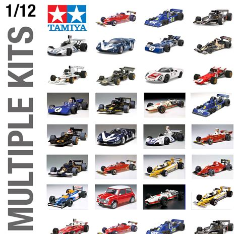 Kit Car Types by Tamiya 1 12th Car Plastic Model Kit Build Yourself All