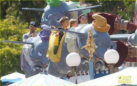 Beckhams Hit Disneyland by David Beckham Disneyland Photo 2671555