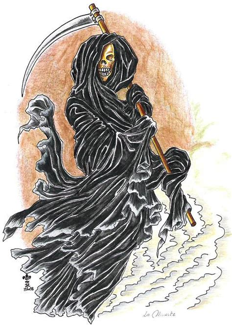imagenes de halloween de la muerte dibujos de la santa muerte para colorear imagui