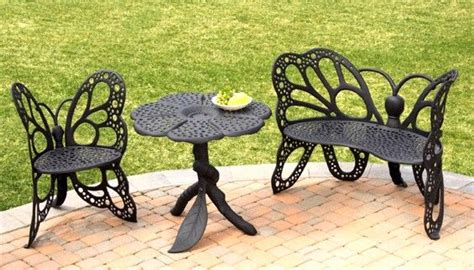 wrought iron butterfly bench wrought iron butterfly chairs butterfly patio furniture