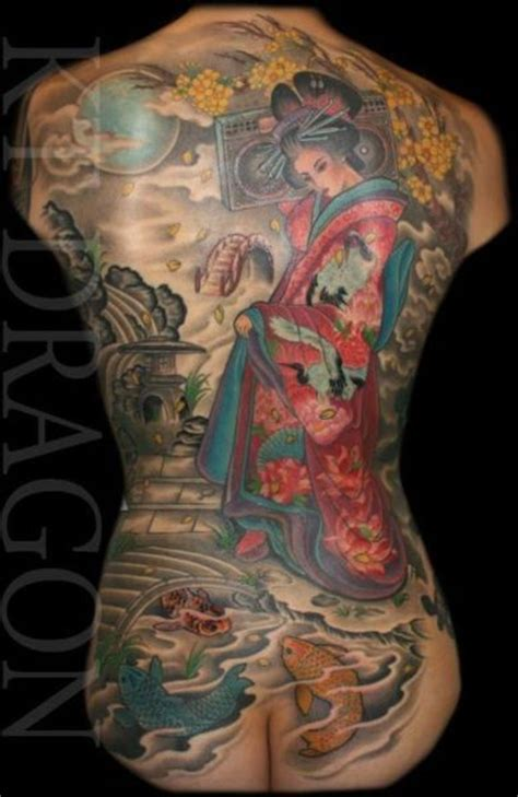 geisha tattoo back piece 17 best images about geisha tattoos on pinterest ink