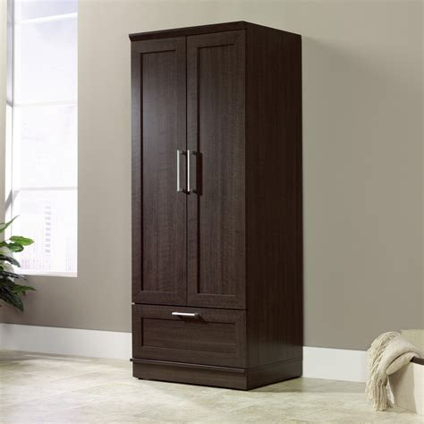 Furniture Armoire Wardrobe - sauder homeplus wardrobe cabinet wardrobes armoires at
