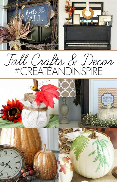 crafts for fall decorations create inspire fall crafts and decor a