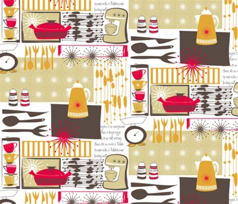 starspangled kitchen fabric bippidiiboppidii spoonflower