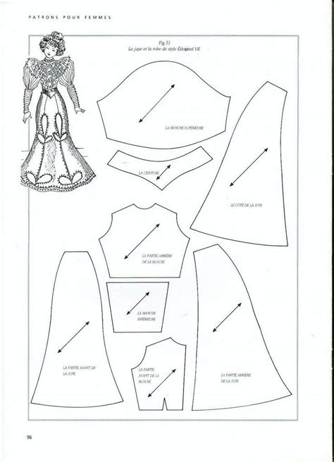 jointed doll clothes patterns jointed doll dress pattern
