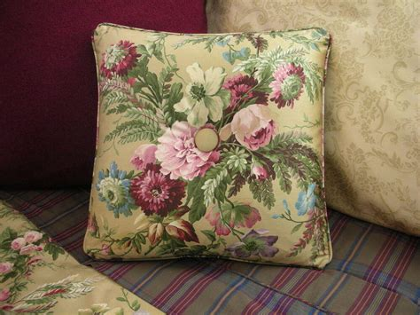 ralph lauren adriana bedding new custom ralph floral throw pillow 1 button ebay