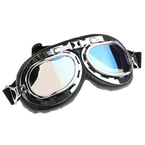 Motorradbrille Bestellen by Motorradbrille Fliegerbrille Goggle Mit Regenbogen Glas