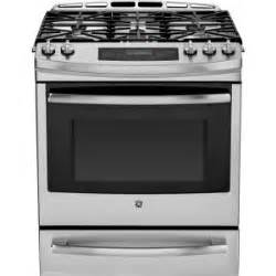 home depot slide in gas range ge profile 5 6 cu ft slide in gas range with self