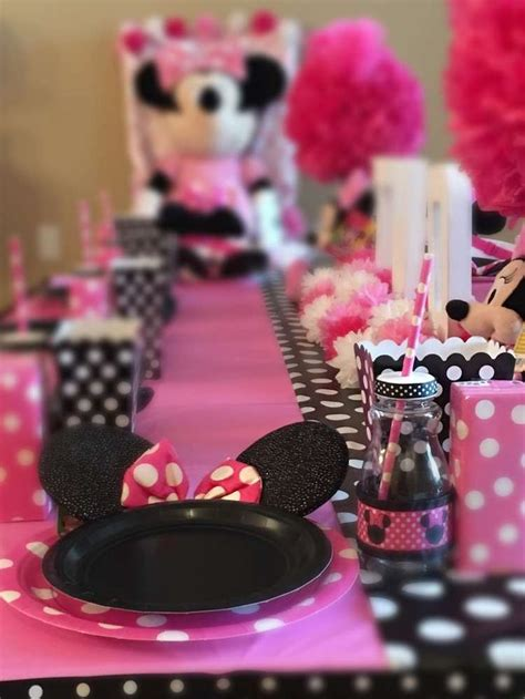 birthday themes minnie mouse 1090 best images about minnie mouse party ideas on
