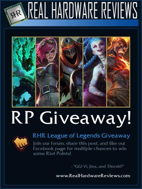 Giveaway Lol - league of legends rhr giveaway join now