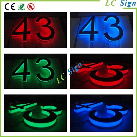 house numbers buy direct manufacturer 3d illuminated house numbers buy illuminated house numbers house numbers