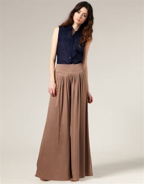 plazo dress palazzo pants are huge for spring summer 2012