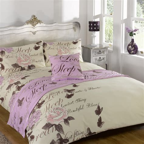 Single Bed In A Bag Set Odette Lilac Quilt Bed In A Bag Set Single Double King