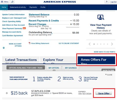 check your amex account for a targeted 15 100