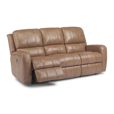 Cheap Reclining Sofa Flexsteel 1157 62p Hammond Leather Power Reclining Sofa Discount Furniture At Hickory Park