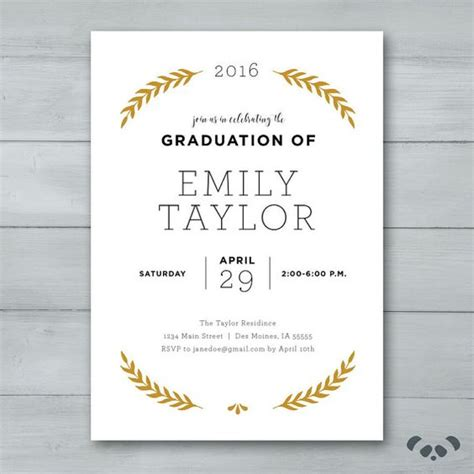 printable invitations for graduation party graduation invite graduation party invitation grad