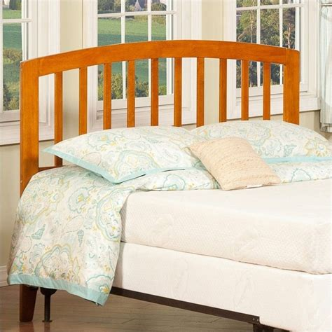 richmond headboard atlantic furniture richmond slat headboard in brown ar2888x7