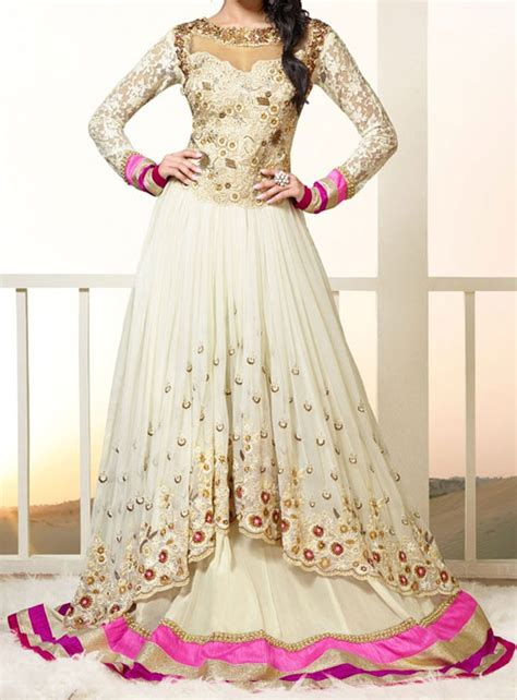 www simple frocks in tail trendy anarkali frocks fashion new neck designs images