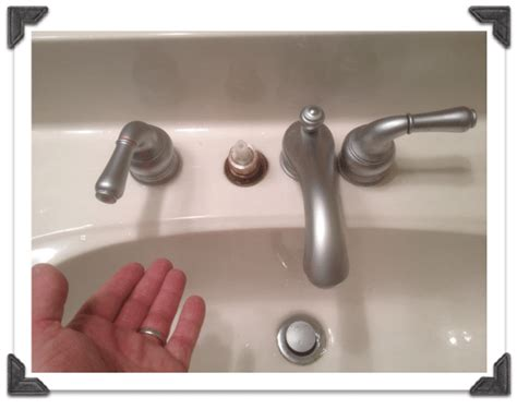 How To Remove Moen Bathroom Faucet Handle by Bathroom Faucet Removal