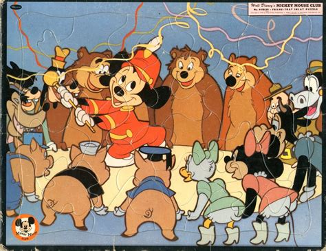 Puzzle Mickey Mouse Club mickey mouse club puzzle other products details four color comics
