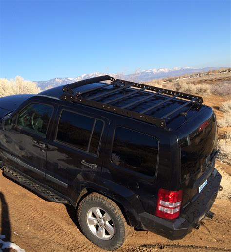 jeep roof rack roof rack for 08 12 jeep liberty kk at the helm fabrication
