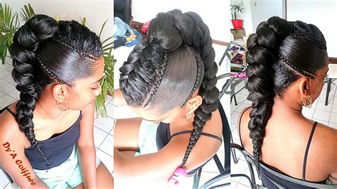 french braid mohawk styles for blacks jumbo french braids french women