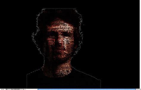 typography photoshop tutorial easy super easy typographic portrait in photoshop