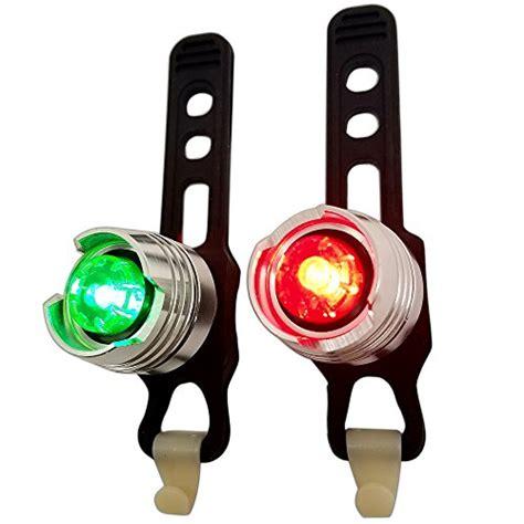 backup boat navigation lights bright eyes green red aluminum portable marine led