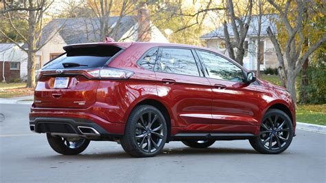 2016 Ford Edge Sport Review by 2017 Ford Edge Sport Review Is Here Drivers Magazine