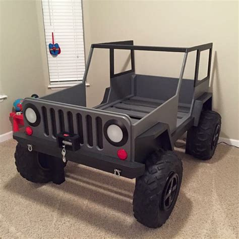 kids jeep bed jeep bed plans twin size car bed car bed bed plans