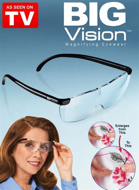 Tv Vision big vision magnifying glasses safify