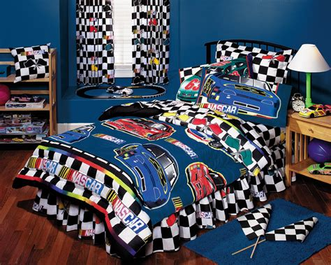 nascar bedding nascar checkered flag bed in a bag twin bedding set