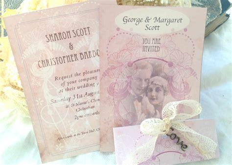 1920s style wedding invitations wedding invitation 1920 s style on luulla