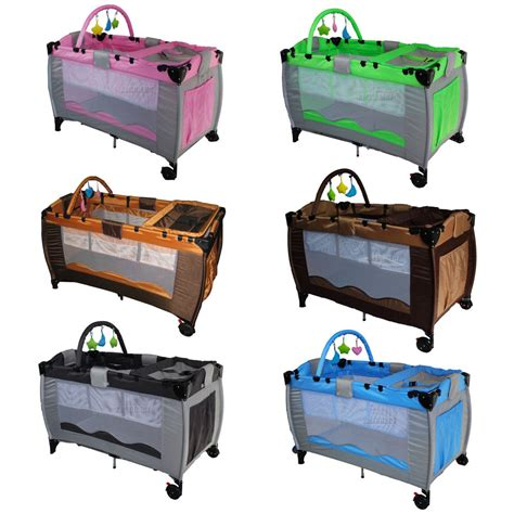 playpen bed new portable child baby travel cot bed bassinet playpen