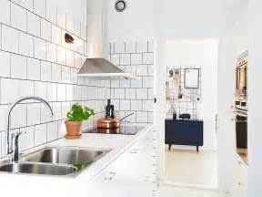 gallery for gt white tile kitchen wall