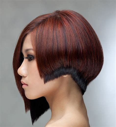 gorgeous asymmetrical multi length bob hairstyle 1075 best images about adventures in asymmetric styles l1
