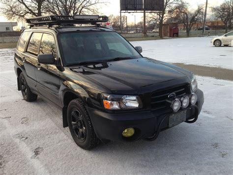 1999 subaru forester brush guard led light bar roof mount subaru forester owners forum