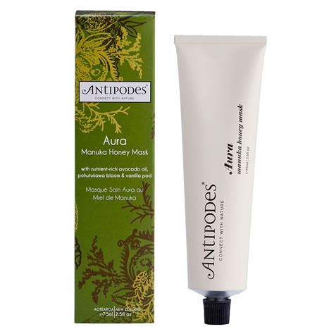 Masker Wajah Skin Care antipodes aura manuka honey mask 75 ml crownbox